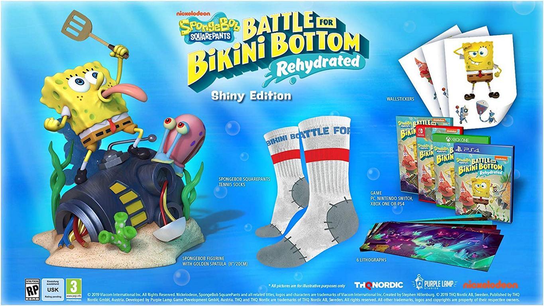 Spongebob SquarePants Battle for Bikini Bottom Rehydrated Shiny Edition  (deutsch) (AT PEGI) (PS4)