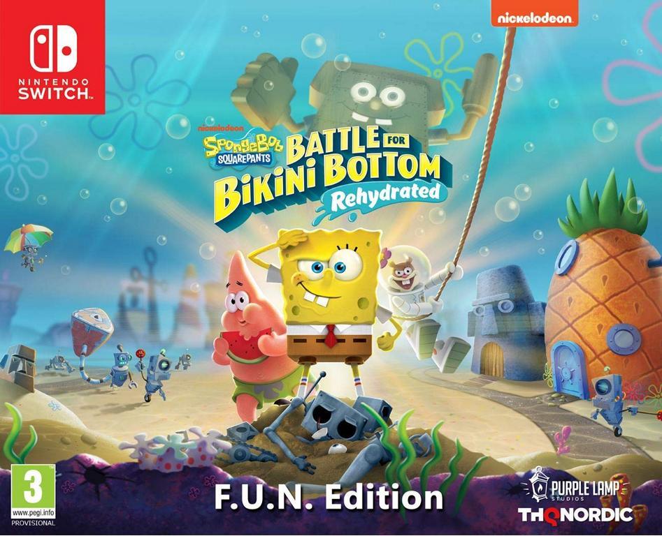 Spongebob SquarePants Battle for Bikini Bottom Rehydrated F.U.N. Edition  (deutsch) (AT PEGI) (Nintendo Switch)