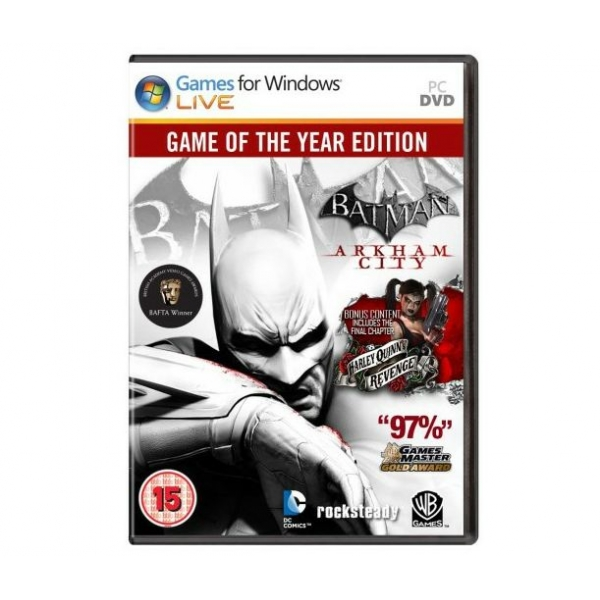 Batman arkham city game of the year edition crack.