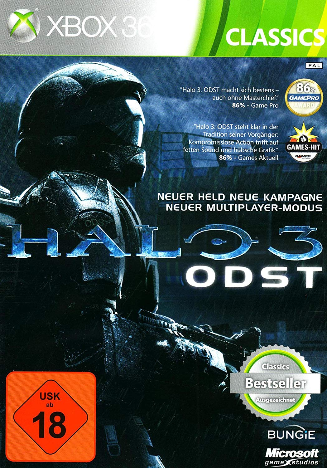 halo 3 odst classics deutsch de xbox360. Black Bedroom Furniture Sets. Home Design Ideas