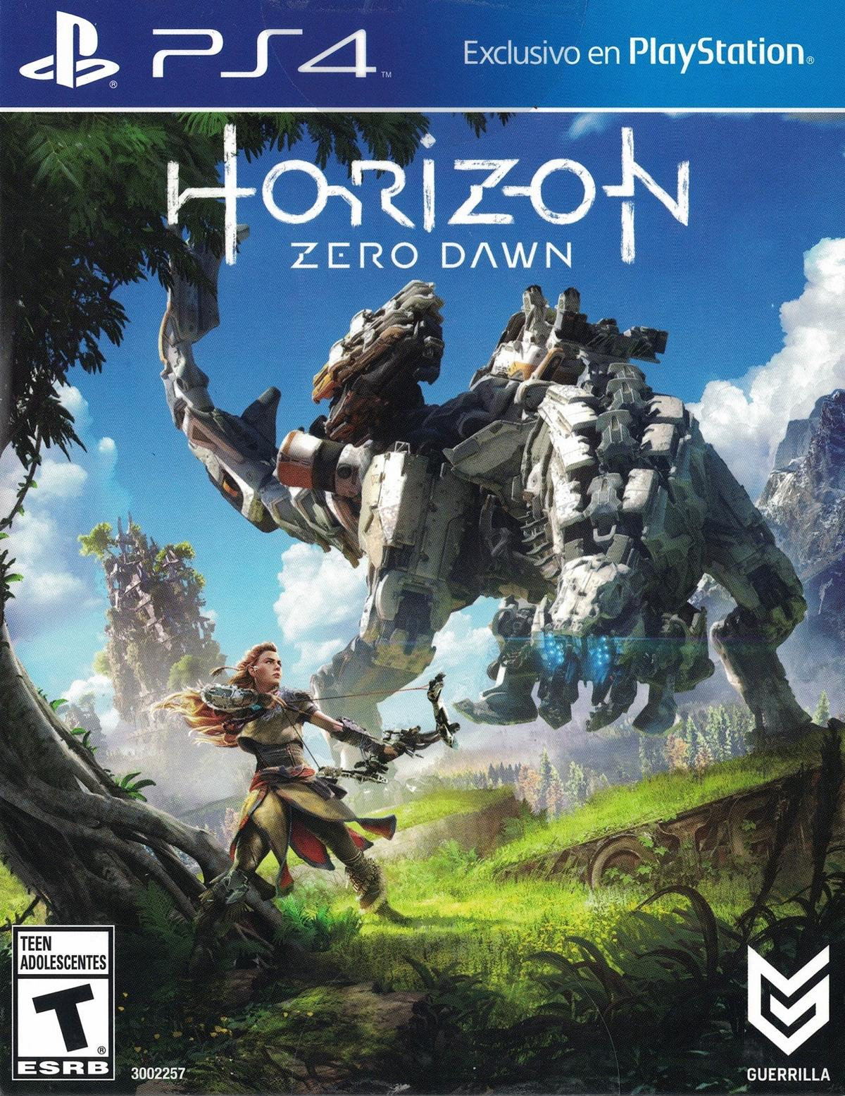 horizon zero dawn uncut englisch us ps4. Black Bedroom Furniture Sets. Home Design Ideas