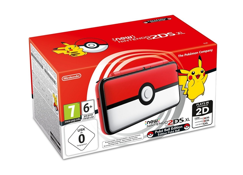 New Nintendo 2DS XL - Limited Pokéball Edition