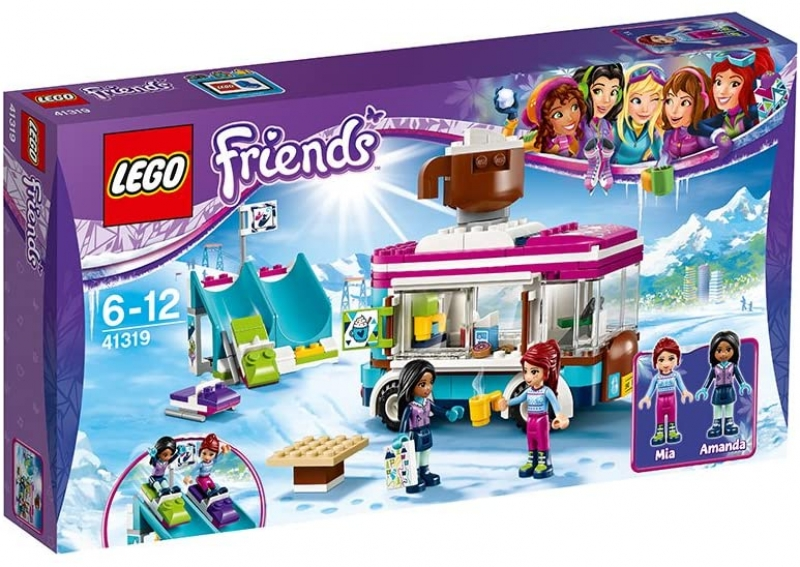 LEGO Friends 41319 Kakaowagen am Wintersportort [neu]