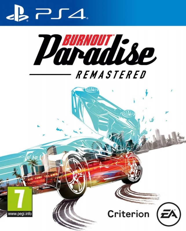 Burnout Paradise Remastered HD (deutsch) (AT PEGI) (PS4)