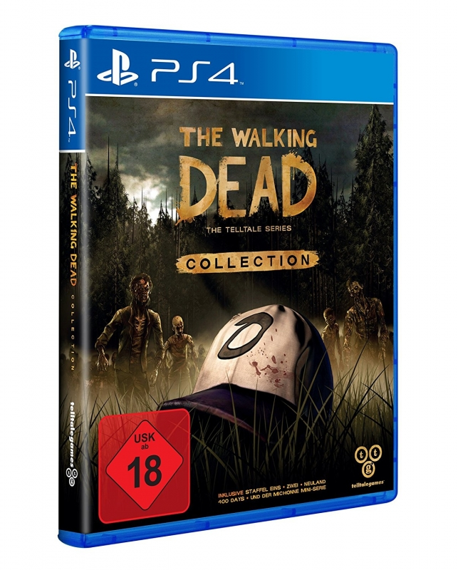 The Walking Dead Collection The Telltale Series [uncut] (deutsch) (DE) (PS4)