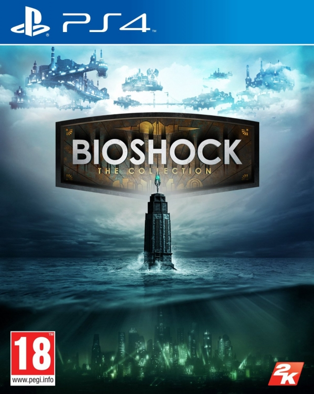 BioShock - The Collection (Bioshock 1, Bioshock 2, Bioshock Infinite) [uncut] (deutsch) (AT PEGI) (PS4)