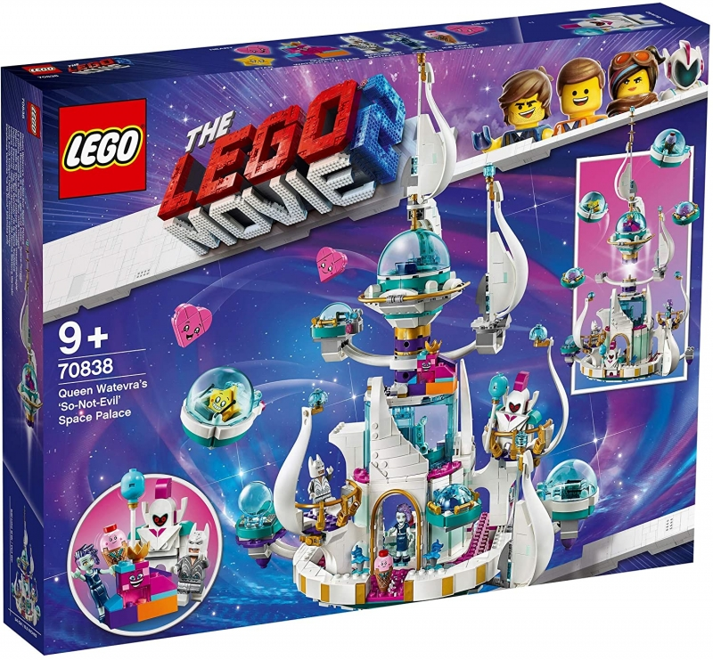 "LEGO MOVIE 2 70838 Königin Wasimma Si Willis ""gar nicht böser"" Space-Tempel [neu]"