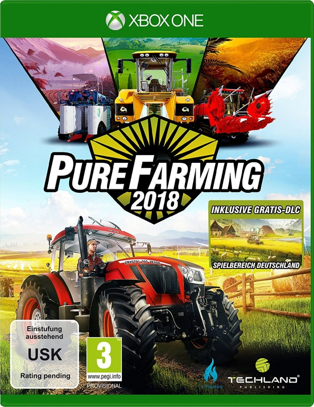 Pure Farming 2018 Day One Edition (deutsch) (AT PEGI) (XBOX ONE)