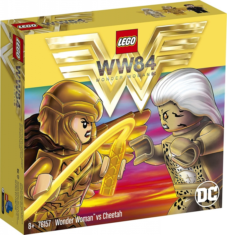 LEGO Super Heroes 76157 Wonder Woman vs Cheetah [neu]