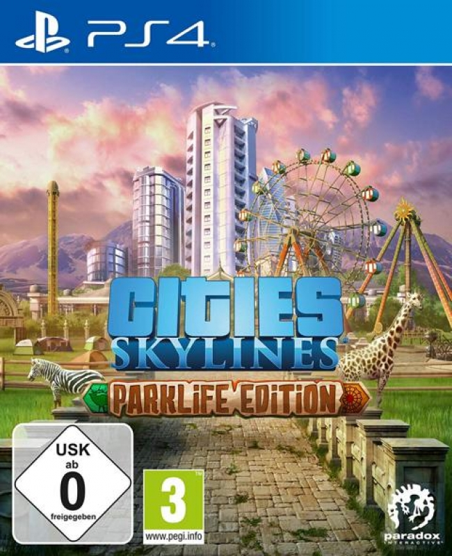 Cities Skylines Parklife Edition (deutsch) (AT PEGI) (PS4)