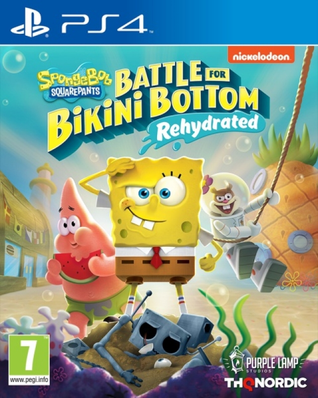 Spongebob SquarePants Battle for Bikini Bottom Rehydrated (deutsch) (AT PEGI) (PS4)