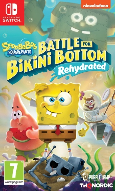 Spongebob SquarePants Battle for Bikini Bottom Rehydrated (deutsch) (AT PEGI) (Nintendo Switch)