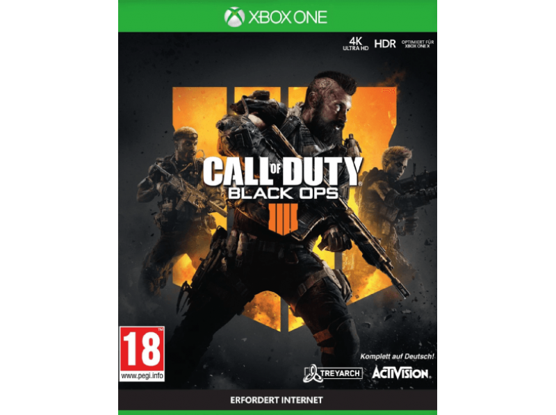 Call of Duty Black Ops 4 (deutsch) (AT PEGI) (XBOX ONE)