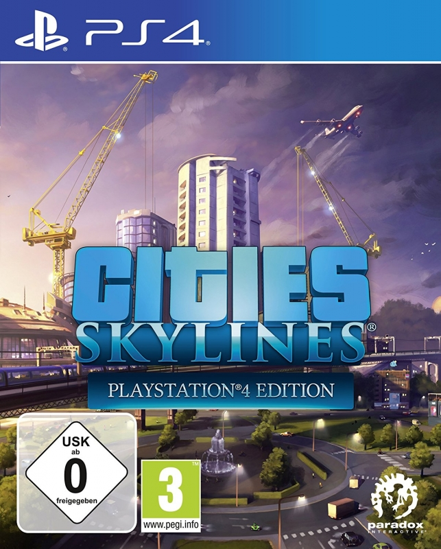 Cities Skylines (deutsch) (AT PEGI) (PS4)