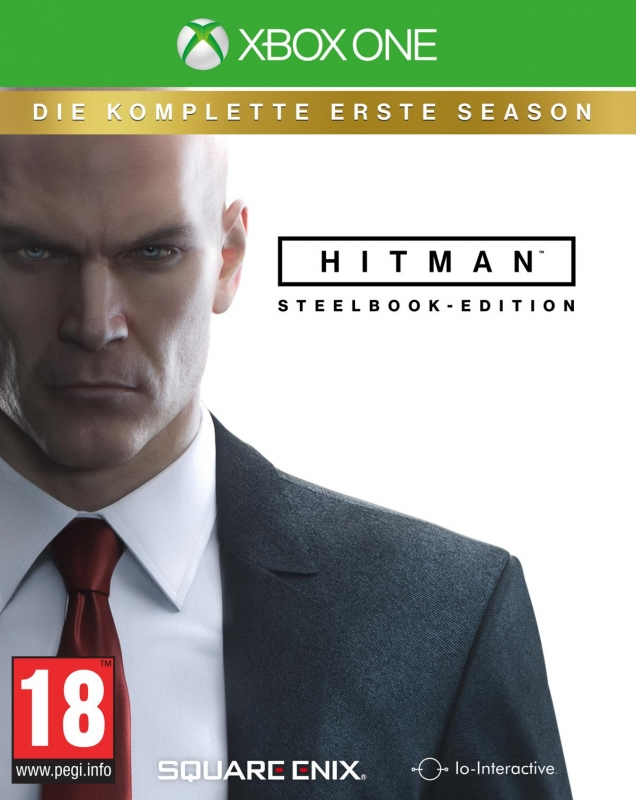 HITMAN 2016 Day One Steelbook Edition [uncut] (deutsch) (AT PEGI) (XBOX ONE)