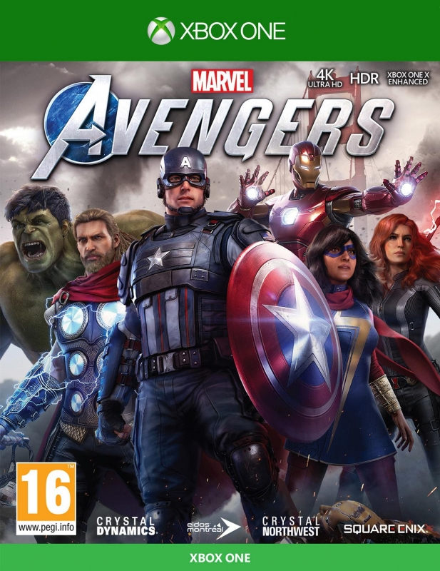 Marvel's Avengers (deutsch) (AT PEGI) (kostenloses Upgrade auf Xbox Series X) (XBOX ONE) inkl. BETA-Zugang / Namensschild / Marvel Legacy Outfit-Pack