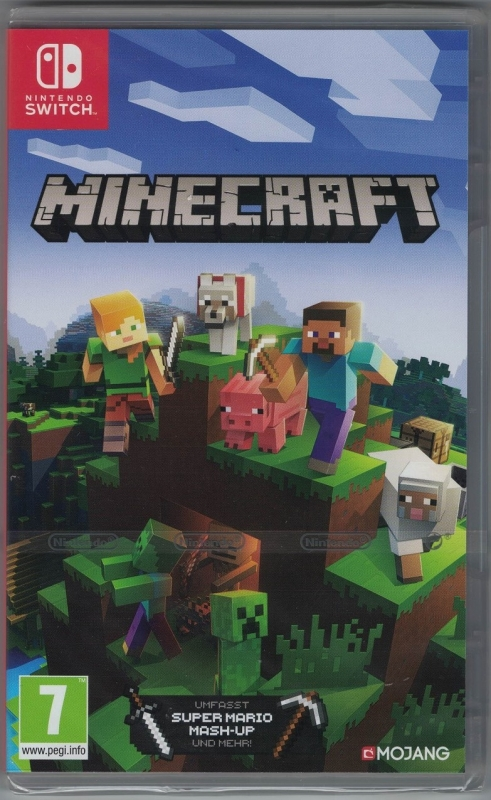 Minecraft Nintendo Switch Edition (deutsch) (AT PEGI) (Nintendo Switch)