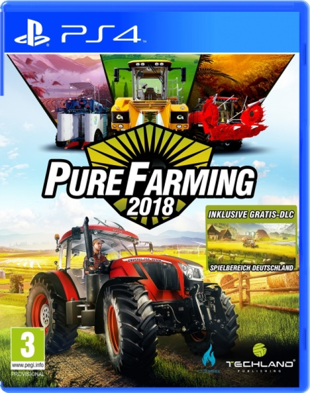Pure Farming 2018 Day One Edition (deutsch) (AT PEGI) (PS4)