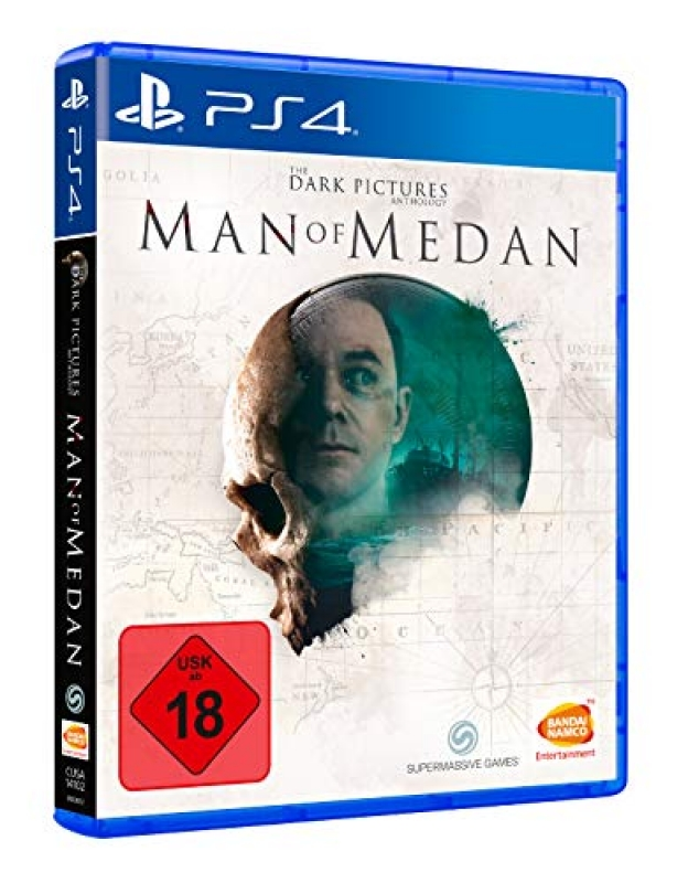 The Dark Pictures Man of Medan (deutsch) (DE USK) (PS4)