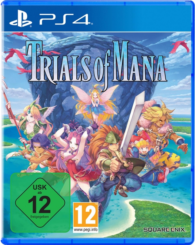 Trials of Mana (deutsch) (AT PEGI) (PS4) inkl. Mümmler-Accessoire