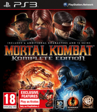 Mortal Kombat (2011) - Komplete Edition [uncut] (deutsch) (EU) (PS3)