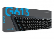 Logitech G613 Gaming Tastatur Kabellos (Mechanische Tastatur mit Lightspeed Technologie, Deutsches Layout, USB)