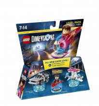LEGO Dimensions - Zurück in die Zukunft / Back to the Future 71201 Level Pack (PS3/PS4/Xbox One/Xbox 360/WiiU)