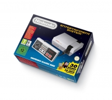 Nintendo Classic Mini Nintendo Entertainment System (NES), grau