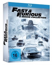 Fast & Furious - 8 Movie Collection (deutsch) [Blu-ray]