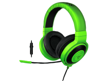 Razer Kraken Pro 2015 Musik und Gaming Headset (Over-Ear PC, PS4) Grün (Green) (RZ04-01380200-R3M1)