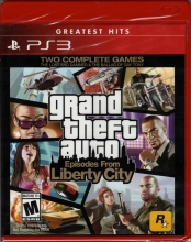 Grand Theft Auto Episodes from Liberty City (englisch) (US ESRB) (PS3)