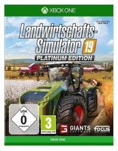 Landwirtschafts-Simulator 19 Platinum Edition (deutsch) (AT PEGI) (XBOX ONE)