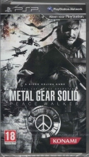 Metal Gear Solid Peace Walker (deutsch) (EU PEGI) (PSP)