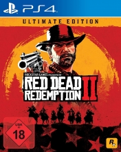 Red Dead Redemption 2 - Ultimate Steelbook Edition [uncut] (deutsch) (DE) (PS4) inkl. 27 DLCs